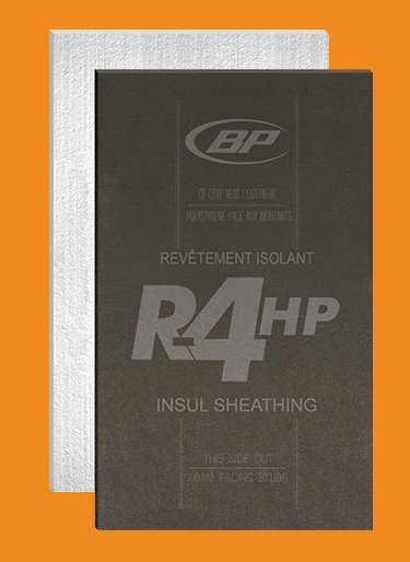 Revêtements isolants de BP Canada - High-Performance Exterior Insulsheathing from BP Canada
