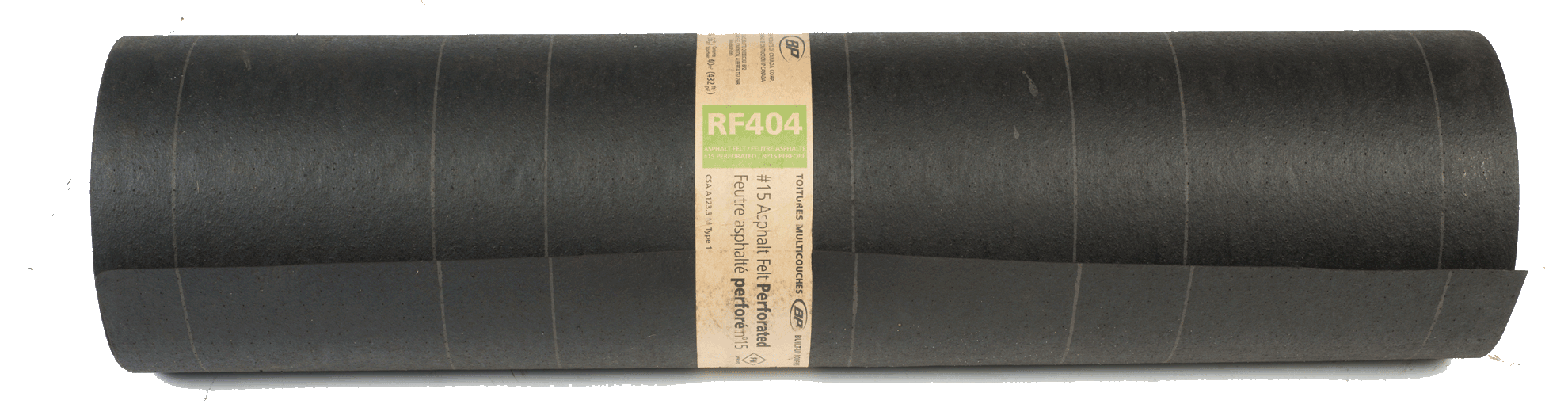 Perforated Saturated Felt 15 Cs Rf404n Bp Canada